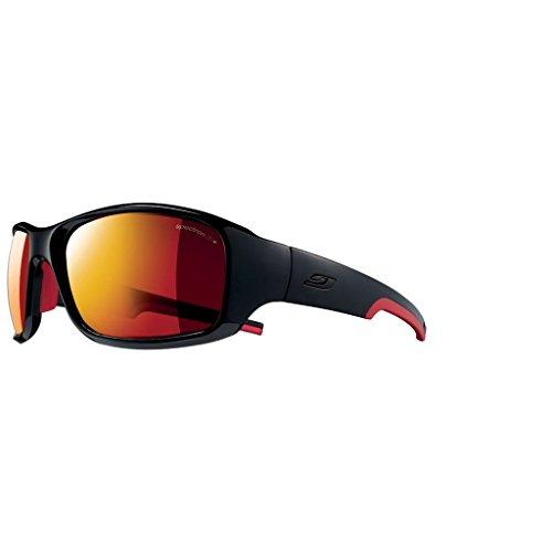 046d95077b0ad5 Julbo Stunt Sp3Cf Lunettes de soleil Homme, Noir Rouge, Taille L