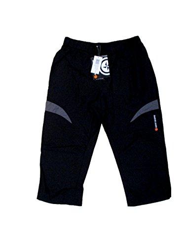Great Escapes Pantaloni Uomo - Cortina Knicker (XL,Nero)