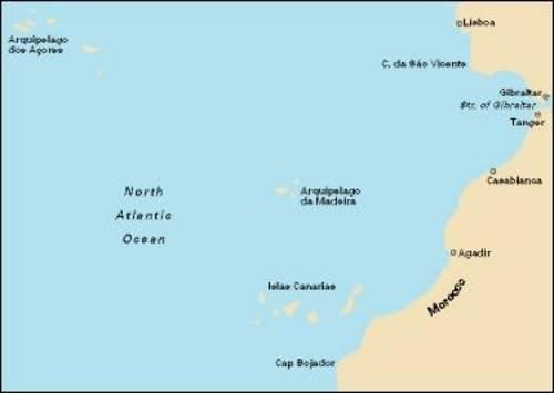 Imray Chart C20: Strait of Gibraltar to Archipelago Des Acores & Islas Canarias por From Imray,Laurie,Norie & Wilson Ltd