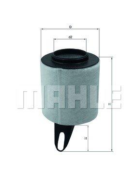 Preisvergleich Produktbild Mahle Knecht LX 1650 Luftfilter