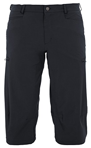 Vaude Yaki Pantalon 3/4pour Femme, Homme, Hose Yaki 3/4 Pants noir