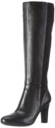 Geox D6498B085JZ - Stivali Alti Donna, colore Nero (BLACKC9999), taglia 40 EU