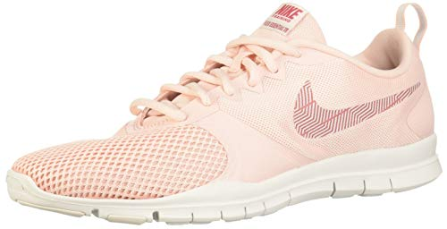Nike Damen Women's Flex Essential Training Shoe Fitnessschuhe, (Echo Pink/Light Redwood/Vast Grey 605), 39 EU