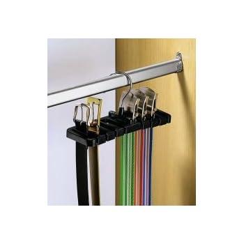 Idesign Axis Krawattenhalter Hakenleiste Aus Verchromtem Metall Mit