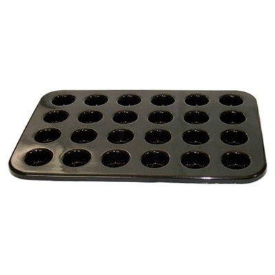 Pasteten-/Mini-Muffin-Blech für 24 Stück, strapazierfähiges Silikon mit Antihaftwirkung, 10 Jahre Garantie