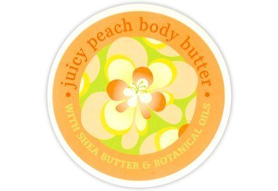 Greenwich Bay Body Butter Enriched with Shea Butter and Cocoa Butter, Moisturizing and Fast Absorbing (Set of 2) (Juicy Peach) 8 OZ each by Greenwich Bay Trading Company - 2 ° Fast Peach