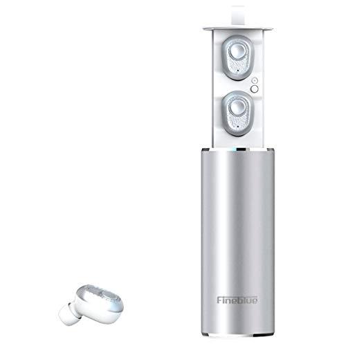 kashyk Free Post!!Bluetooth Kopfhörer,In Ear Kopfhörer Wireless Sport Kopfhörer mit Portable Akku Ladebox,20H Stunden Spielzeit,Handsfree Ohrhörer mit Mikrofon,CVC Noise Cancelling HD Stereo Ohrhörer