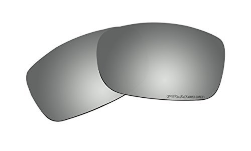 Sunglasses Lenses Replacement Polarized Black Mirror Coatings for Oakley Fives Squared (2008) Sunglasses by BVANQ