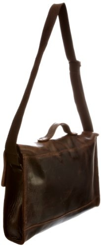 Fly London  Adult Al Satchel, Sac bandoulière mixte adulte Marron-TR-B3-107