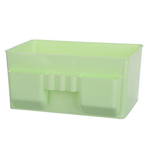 WEIAIXX Kunststoff Kosmetik Remote Kontrolle Lagerung Abendkasse Kommode Desktop Storage Schmuck Haut Pflege Finishing Box Grün