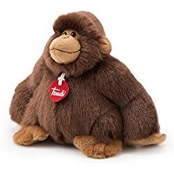 Trudi - Gorila Rocco, 25 cm, Color marrón (27401)
