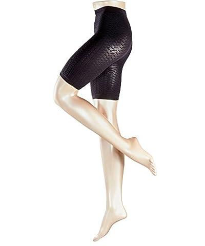 FALKE Damen Matt Fein Panties Cellulite Control, Gr. 36 (Herstellergröße: 36-38), Schwarz (black 3009)