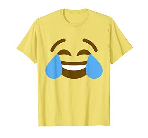 Kostüm Lmfao - Tränen der Freude lmfao Emoji Lustig Halloween Gruppe Kostüm T-Shirt
