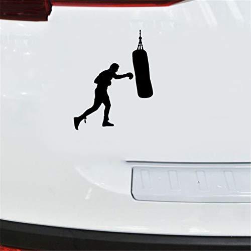 Tattoo Auto Aufkleber Dekoration Windschutzscheibe Stoßstange Aufkleber Glatte Oberfläche Dub Euro Kayak Boxsack Boxer Handschuhe 12x15,5 Cm Für Auto Laptop Fenster Aufkleber