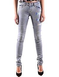 7dc26289bff Philipp Plein Femme S19CWDT0986PDE004N07IL Bleu Claire Coton Jeans