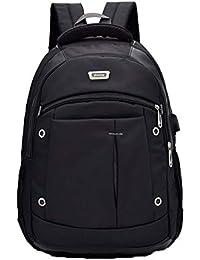 6d2e110ade31f ZSbag Mit USB Jungen Schultasche Unisex Laptop Rucksack Wasserdicht  Schulrucksack Junior Nylon Ranzen Groß Jugendliche…