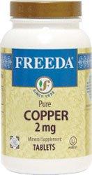 Freeda Kosher Copper 2 Mg. - 100 TAB by Freeda (English Manual)