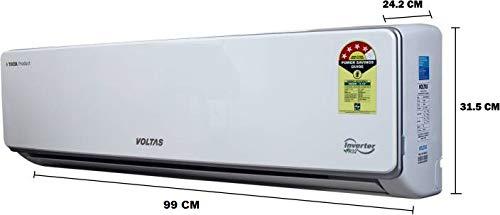 Voltas 1.5 Ton 4 Star Inverter Split AC (Copper, 184V SZS (R32), White)