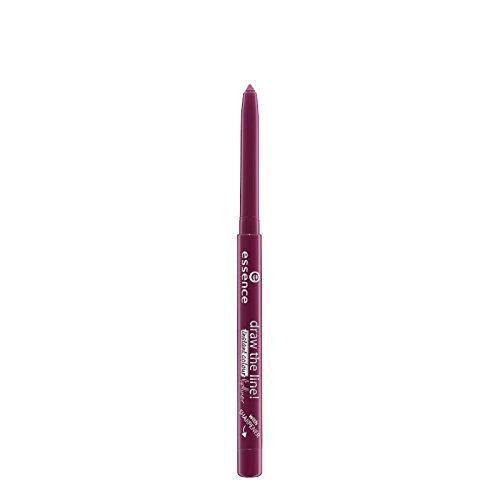 Essence Lippen Lipliner Draw The Line! Instant Colour Lipliner Nr. 15 Burgundy Spirit 0 g