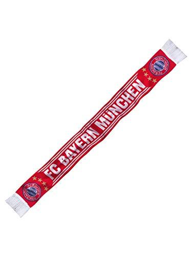 FC Bayern München Schal Home, Fanschal rot-weiß