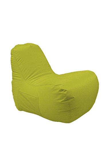 13casa - pollicino a4 - poltrona pouff. dim: 65x90x70 h cm. col: verde. mat: poliestere.