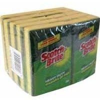 scotchbrite-scotchbrite-1821-3-m-washing-up-scouring-sponge-pack-of-10
