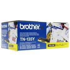 Toner für Brother Fax yellow TN135Y 4000 Seiten Faxgerät Laserdrucker Multifunktionsgerät -