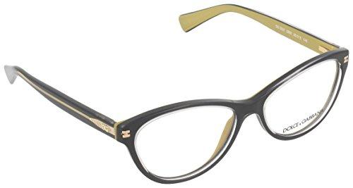 Dolce & Gabbana Gestell 3232_2955 (56.5 mm) schwarz