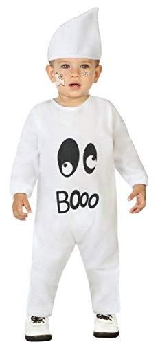 Fancy Me Baby Kleinkind Jungen Mädchen Halloween Boo Ghost Jumpsuit Karneval Kostüm Outfit 6-36 - Ghost Kostüm Für Kleinkind Mädchen
