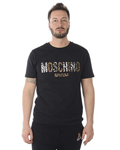 Moschino swim - t-shirt uomo v19032320 v1903 2320 nero xs