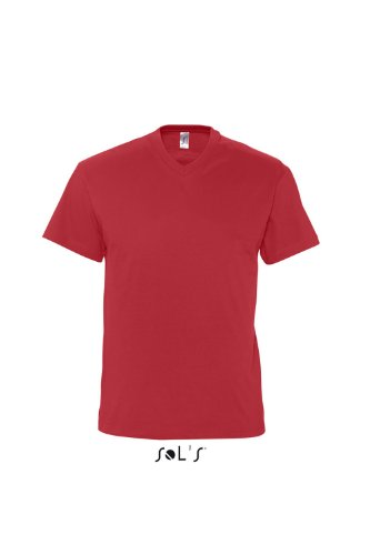Sols V-Neck T-Shirt Victory Red
