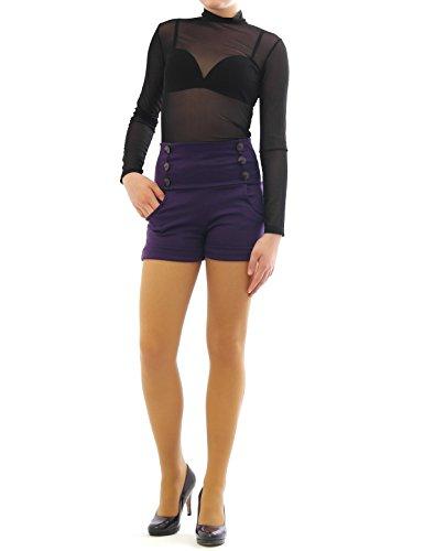 yeset - Short - Relaxed - Femme Violet - Violet
