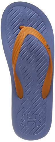 Under Armour Atlanticdune T, Scarpe da Spiaggia e Piscina Uomo, Blu Honey Orange/Thunder 403, 44 EU