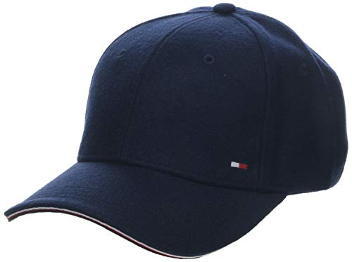 Tommy Hilfiger Herren Elevated Corporate Baseball Cap, Blau (Blue Cjm), One Size (Herstellergröße:OS)