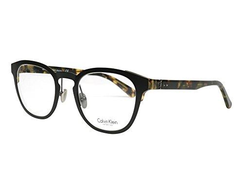 Calvin Klein Collection - CK8026, Rechteckig, Metall, Herrenbrillen, BLACK HAVANA(001 G), 48/22/140