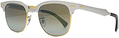 Ray-Ban Gafas de Sol CLUBMASTER ALUMINUM (51 mm)