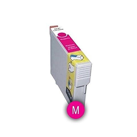 Cartouche D´encre compatible EPSON modèle T0713 Magenta Pour Imprimantes :