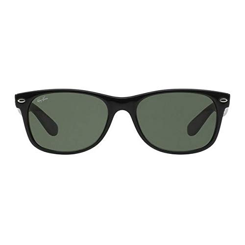 Ray-Ban New Wayfarer RB2132 901L/55 Black Green