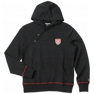 Nike EE. UU. Core Sudadera con Capucha (para Hombre), Hombre, Black/Sport Red//Metallic...