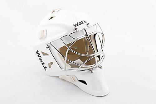 Unbekannt Wall W10 Goalie Maske Senior, Größe:M, Farbe:Weiss -