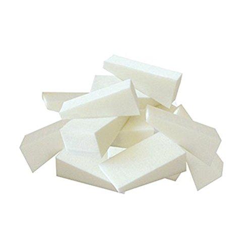Frcolor 24 pièces de cosmétiques Wedges Foundation Sponge Nail Art éponges Triangle éponge faciales