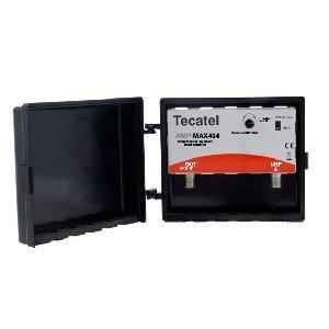Tecatel AMP-LTE404F - Amplifier mast 40 dB UHF LTE, Color White