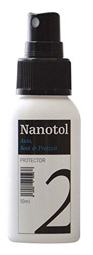 Nanotol Auto, Boot, Freizeit Protector 50 ml (8 m²) - Nanoversiegelung (Step 2) für Lack, Felgen, Autoglas - Glanzversiegelung/Lackpflege/Lotuseffekt/Keramik-Polymer-Hybrid-Beschichtung