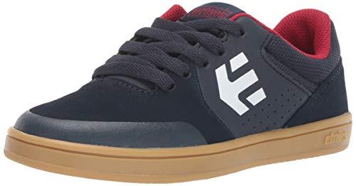 Etnies Unisex-Kinder Kids Marana Skateboardschuhe, Blau (Navy/Gum/White 463), 39 EU -