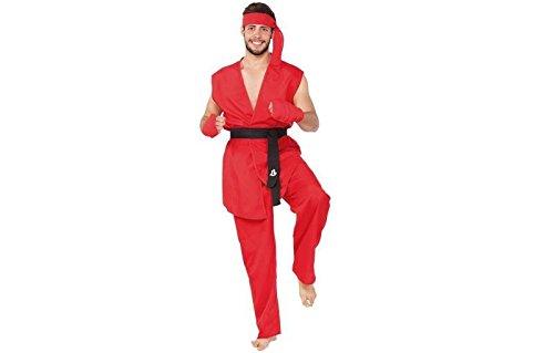 Imagen de disfraz guerrero karateka ken street fighter m l
