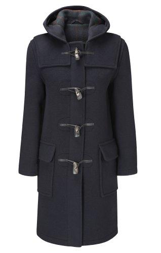 Original Montgomery Duffle Coat Pour Femme Bleu Marine 48