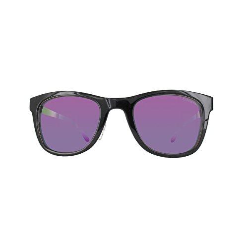 Carrera 9C1 Schwarz Ruthenium Gelb 5023S Wayfarer Sunglasses Lens Mirrored