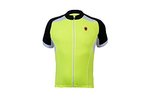 Lusso LINEA SHORT SLEEVE JERSEY Red - XXL (Tight Sleeve Top Performance Short)