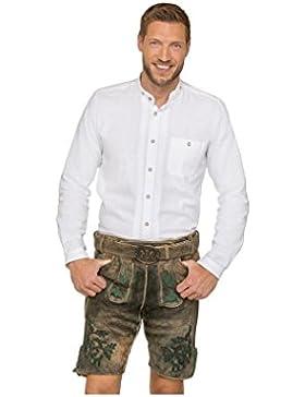 Michaelax-Fashion-Trade Stockerpoint - Herren Trachten Lederhose mit Gürtel, in verschiedenen Farben, Rudolf