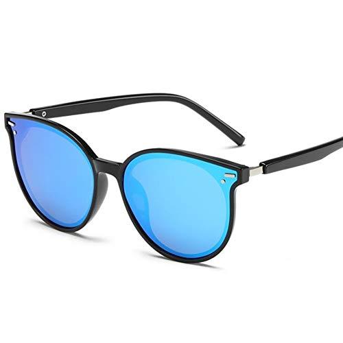 BJFA Sonnenbrille Retro Hochwertiges Material Integriertes Nasenpolster polarisiert leicht und langlebig geeignet für Reisen und Fahren